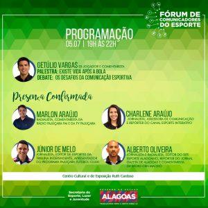 Selaj promove primeira edição do Fórum de Comunicadores do Esporte