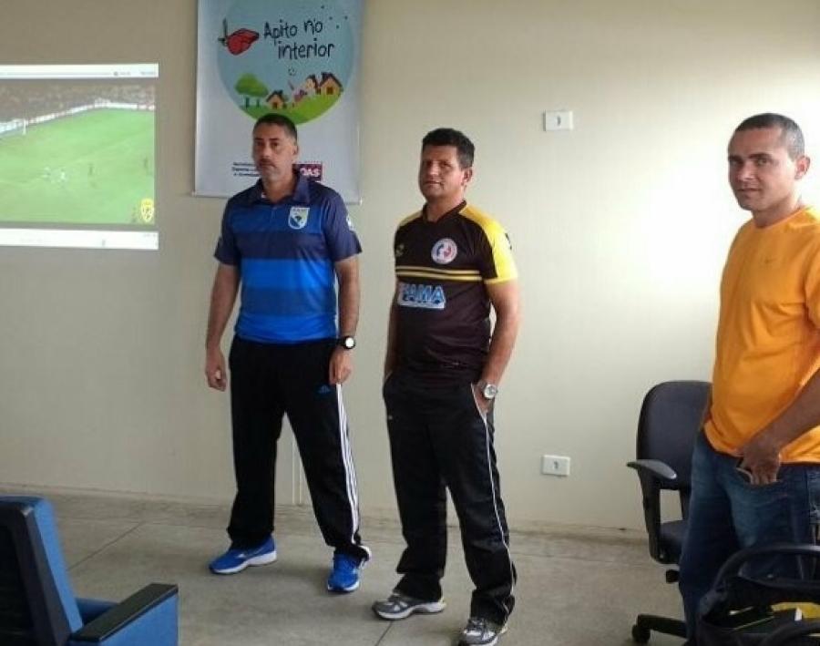 """Selaj promove 4ª edição do """"Apito no Interior"""" em Santana do Ipanema"""