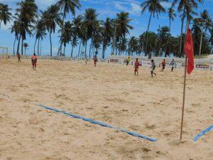 Equipes de AL e PE disputam Copa Tiradentes de Beach Soccer