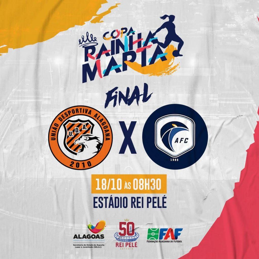 UDA e Acauã decidem a quinta edição da Copa Rainha Marta