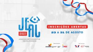 Selaj abre inscrições para edição 2021 dos Jogos Estudantis de Alagoas