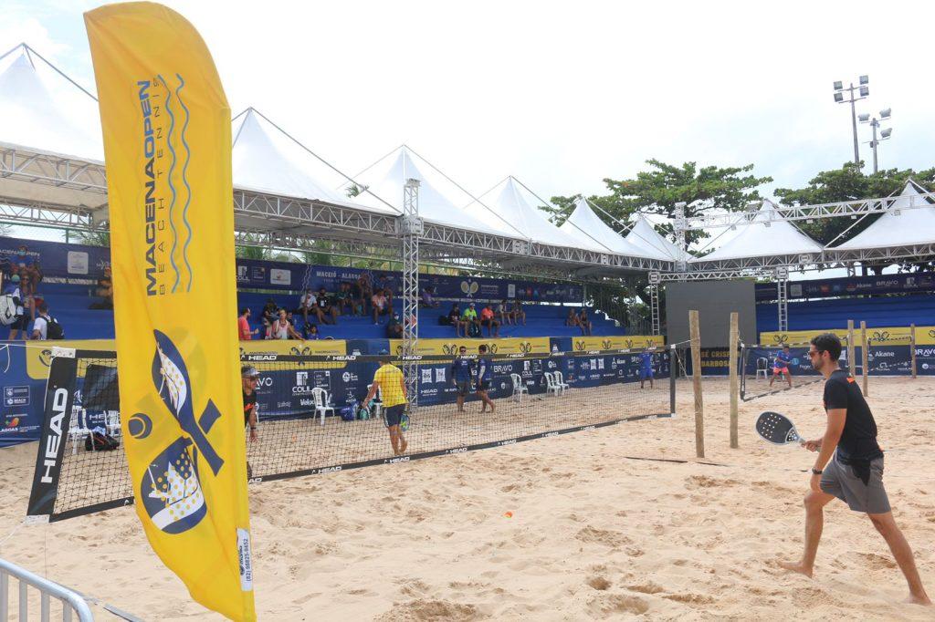 Com apoio da Selaj, evento de Beach Tennis deixa legado em Alagoas